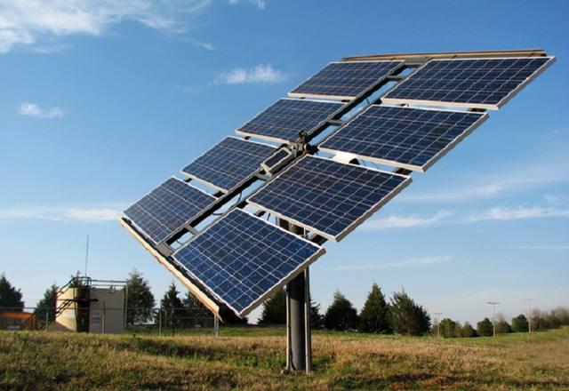 placa de captação de energia solar