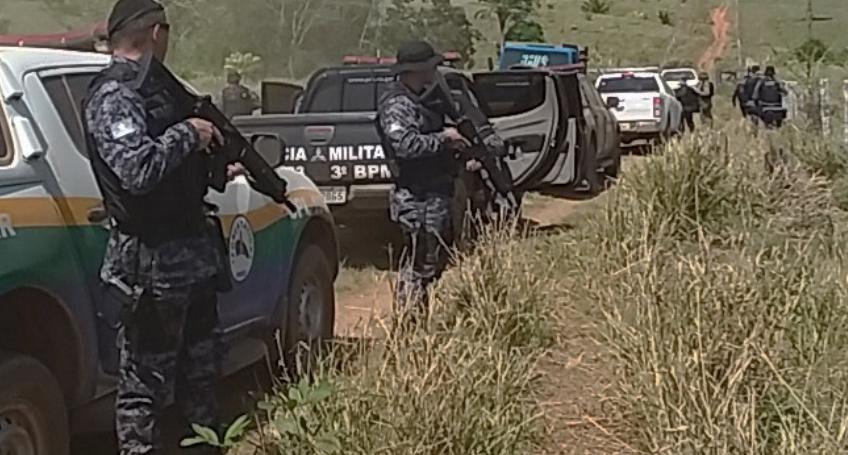 policiamento na fazenda