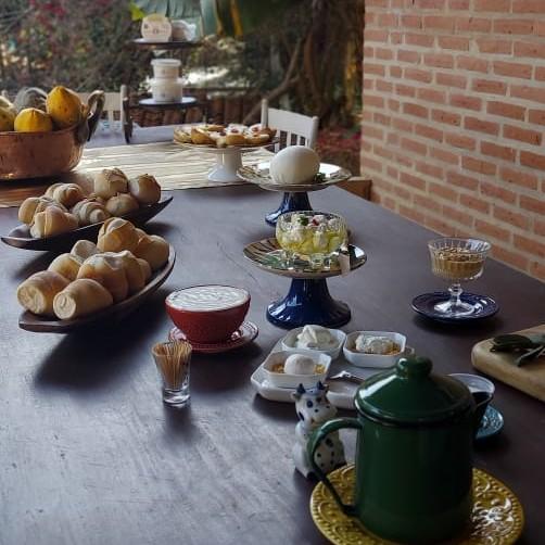 cafe da manha para turismo rural