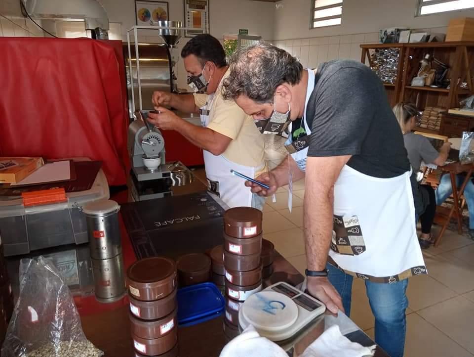 Café premiado em Pardinho