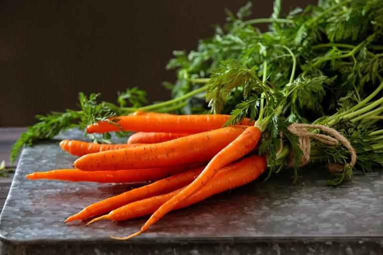 Preços da cenoura aumentaram