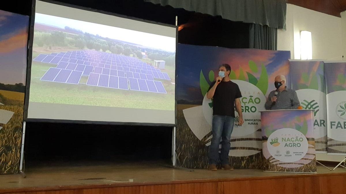 Energia solar pode reduzir 90% dos custos com eletricidade na propriedade rural